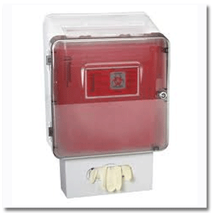 Sharps Disposal Container Cabinets