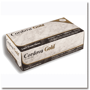 Cordova Gold&#8482 Latex  Exam Gloves: 8001