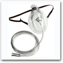 Oxygen Mask With Attached Tube