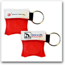 First Aid Mini CPR Keychain