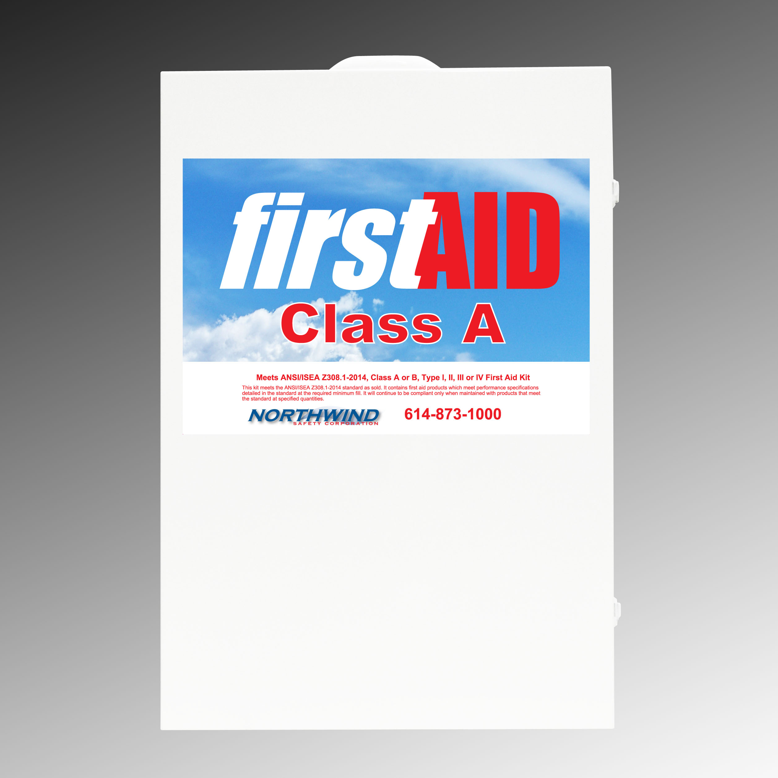 First Aid Cabinet 460 Class A ANSI 2015 Compliant