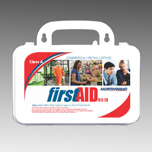Commercial First Aid Kit ANSI 2015 10 Person