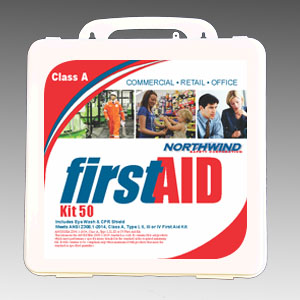 Commercial First Aid Kit ANSI 2015 50 Person