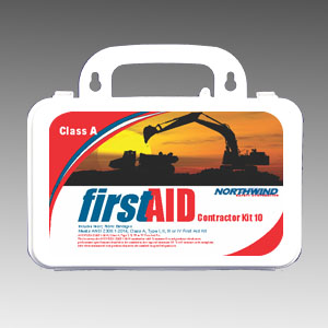 ANSI 2015 Contractor First Aid Kit 10 Person