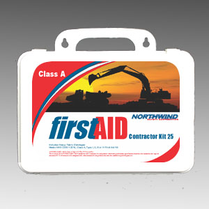 ANSI 2015 Contractor First Aid Kit 25 Person