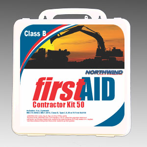 ANSI 2015 Contractor First Aid Kit 50 Person