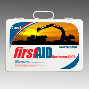 ANSI 2015 Contractor First Aid Kit 75 Person Class B