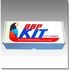 BBP Infectious Control Kit-cardboard container