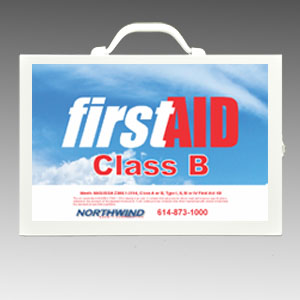 First Aid Cabinet 200 Class B ANSI Compliant