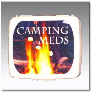 Camping Meds First Aid Kit