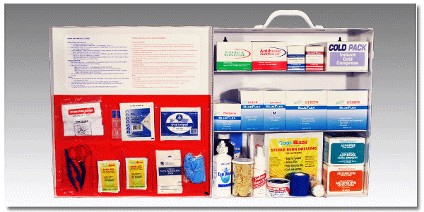 FoodSafe™ First Aid Cabinet 300