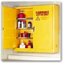 Flammables Wall Mount Safety Storage Cabinet: 13-90